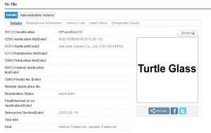 Samsung Turtle Glass