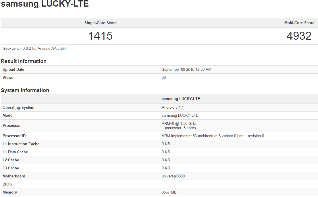 Тестирование Samsung Galaxy S7 на базе Exynos 8890