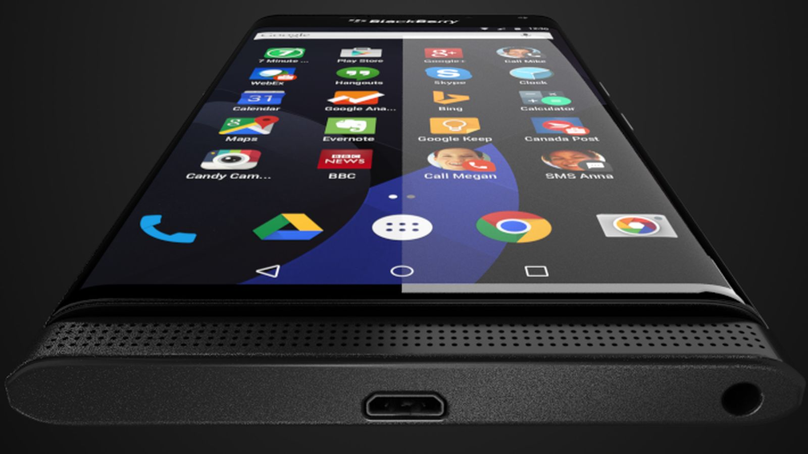 BlackBerry Priv против Samsung Galaxy S7 Edge