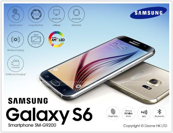 Samsung Galaxy S6 SM-G9200 - вариант для китайского рынка
