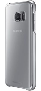 Клип-кейс Samsung Clear Cover серебристый