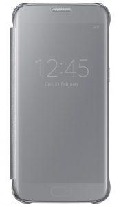 Чехол-книжка Samsung Clear View Cover серебристый