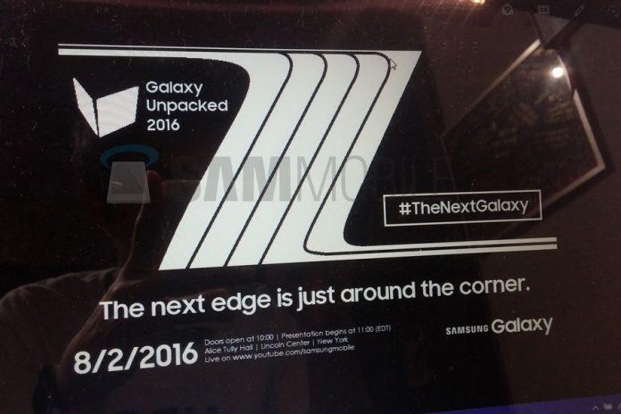 Релиз Samsung Galaxy Note 6 (Note 7) состоится 2 августа 2016 года