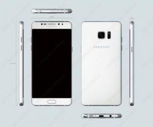 Размеры Samsung Galaxy Note 6