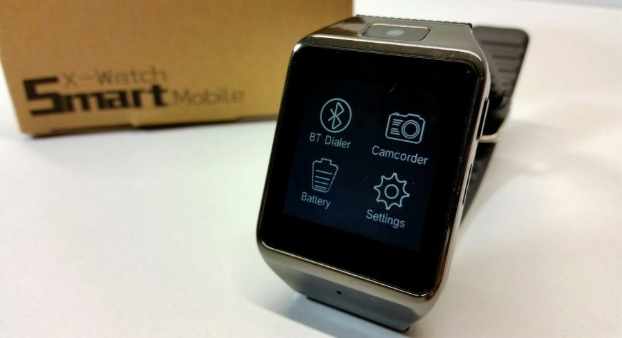 SmartWatch X-Watch - недорогой китайский клон Samsung Gear S на базе ОС Tizen