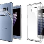 Прозрачный чехол-накладка для Samsung Galaxy Note 7