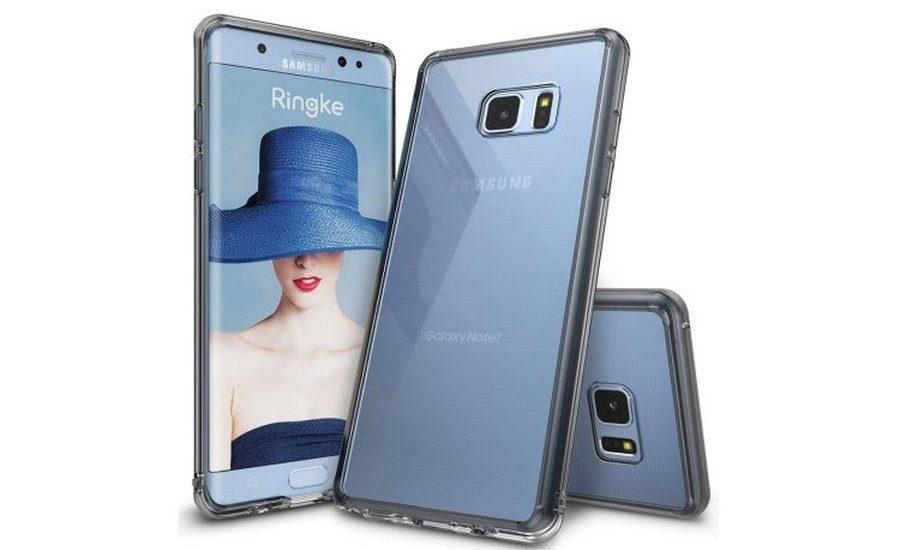 """Женский"" чехол для Galaxy Note 7"
