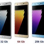 Объем памяти Samsung Galaxy Note 7: 32Gb, 64Gb и даже целых 256Gb