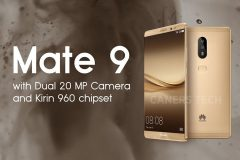 Прояснились дата выхода и цена Huawei Mate 9 с двойной камерой
