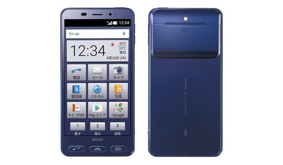 Синий Sharp Basio 2