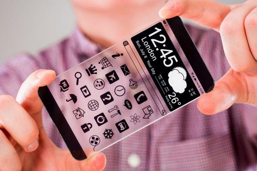Прозрачный смартфон: прототип от Vivo