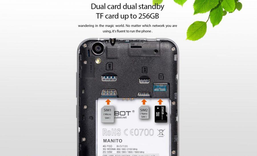 Установка SIM-карт