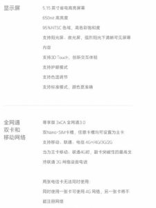 Технические характеристики Xiaomi Mi 5s