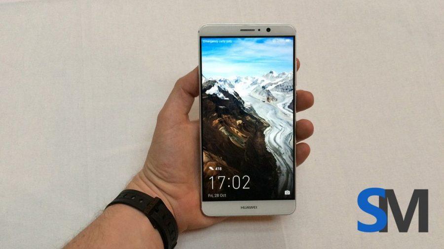 Huawei Mate 9 - вид спереди