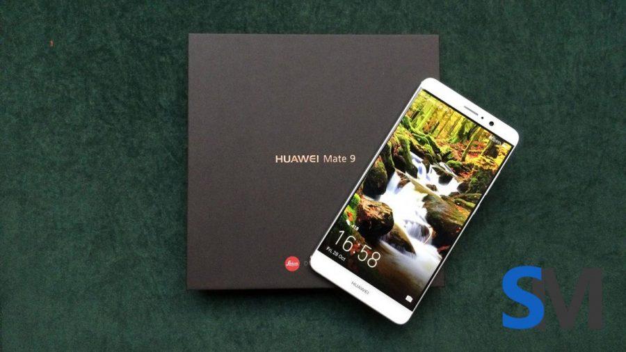Упаковка Huawei Mate 9