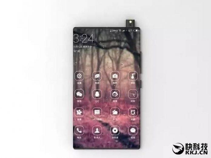 Концепт Xiaomi Mi Mix 2 от фанатов: на 99% безрамочный смартфон