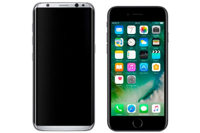 Samsung Galaxy S8 vs Apple iPhone 7: восемь преимуществ