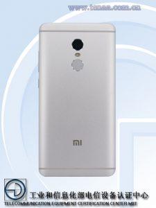 Xiaomi Redmi Note 4X - TENAA - 2