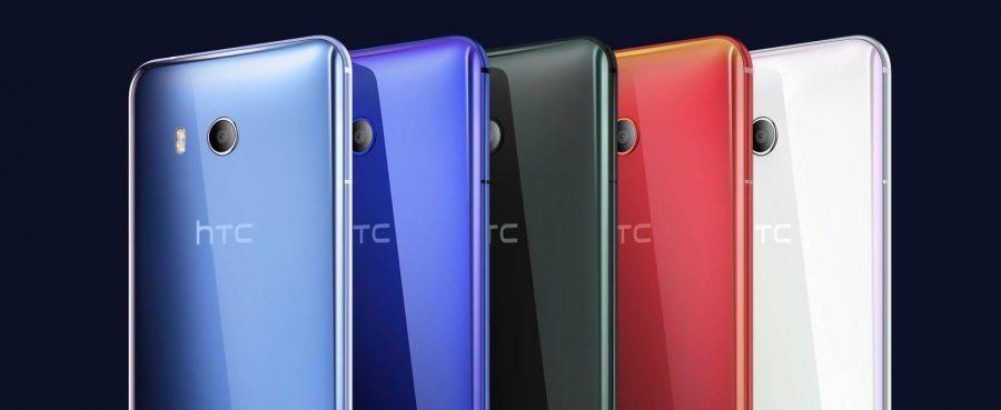 Расцветки HTC U11