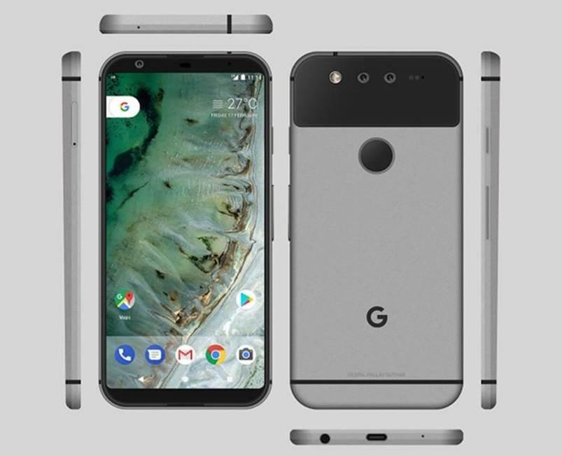 О таким Google Pixel 2 мечтал один дизайнер