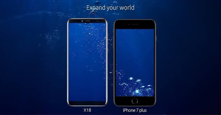 Cubot X18 vs Apple iPhone 7 Plus