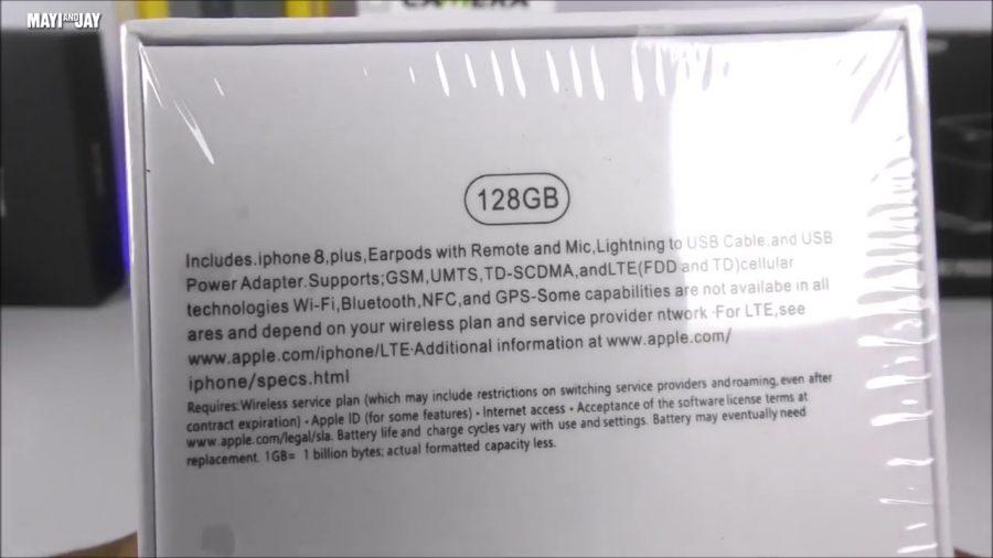 На коробке же нам обещают целых 128 Gb!