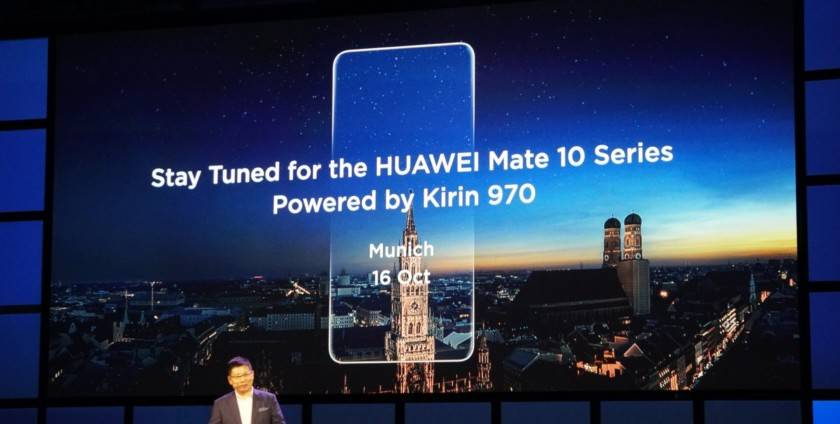 Дата выхода Huawei Mate 10