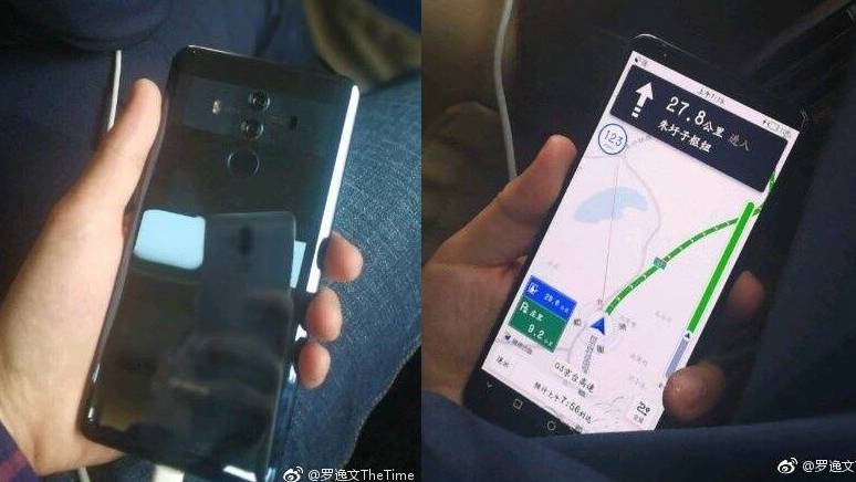 Дизайн Huawei Mate 10